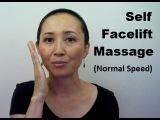 Anti-Aging Fat Reducing Self Facelift Massage (Normal Speed) - Massage Monday #307