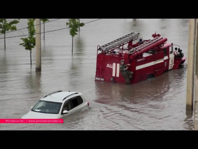 Как Краснодар затопило в очередной раз. Потоп на ул. Московская. Бездействие властей и молчание СМИ