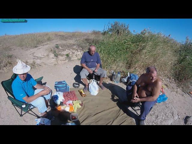 Отличная рыбалка на Софиевском водохранилище Фильм 2