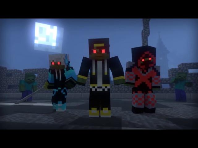 ✅ Minecraft приколы ЗОМБИ АПОКАЛИПСИС все части 66