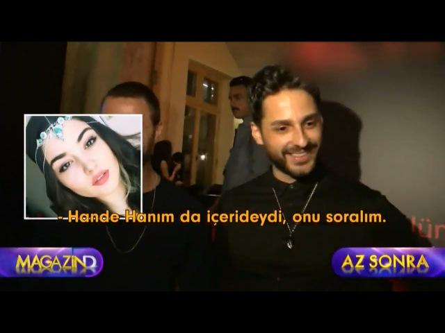 Hande Erçel Eski Sevgilisi ile Köşe Kapmaca Oynadı