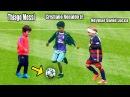 Filhos dos Jogadores Futuros Melhores do Mundo Ronaldo Messi Neymar