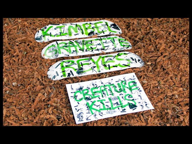 Creature Skateboards | Jay Howell's HUMANOOVERS Series | OUT NOW!