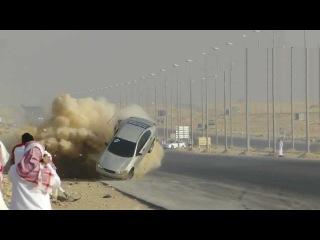 Арабский дрифт неудался ► Аварии Жесть