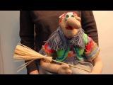 Баба Яга в ступе www.artshop-rus.com