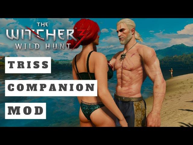 Witcher 3 Triss Follower - Best Companion MOD