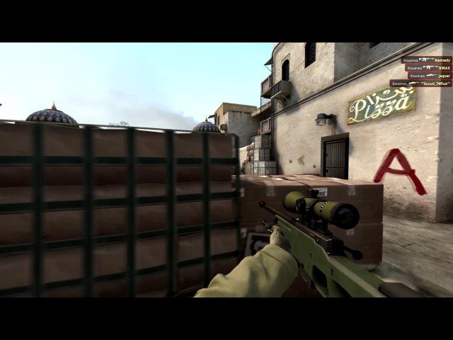 CS:GO: 3 ACE 5 KILL AWP and AK-47