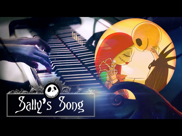 Sally's Song - Tim Burton's The Nightmare Before Christmas (HD Piano Cover, Movie Soundtrack)