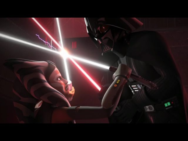 Star Wars Rebels Darth Vader VS Ahsoka Tano HD