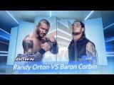 GWC Smackdown 20.01.2017   Randy Orton VS Baron Corbin