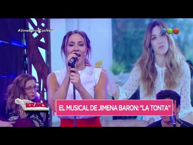 Jimena Barón canta La Tonta en vivo - Cortá por Lozano