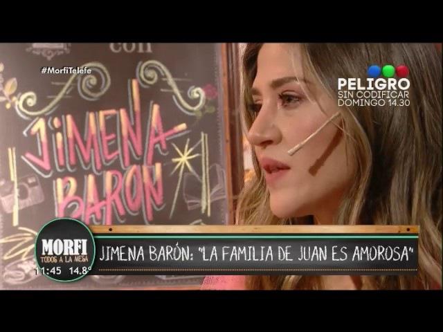 """Jimena Barón habló de su relación con Del Potro: """"ME ESTÁ ENSEÑANDO A AMAR"""""""