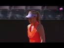Теннис ВТА Рим Италия Шарапова в двух сетах победила Макхэйл в первом круге турнира