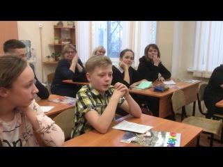 Анаолий Дмитриченко во время мастер-класса Игоря Воеводского