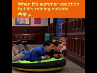 #Fun all #summer long! 😝🌧 #schoolofrock