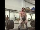 Бэн Поллак - тяга 370 кг на 3 (90 кг)