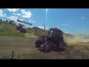 Гонки на тракторах 2017 Бизон трек шоу