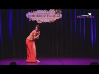 Diana Zolnikova - 'Miss Summer Bellydance 2015 performs at ISBF Closing gala sho 2098