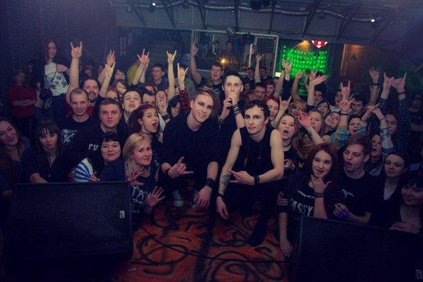 Группа в Смоленске, день рождения Varg Media West, 23.01.16