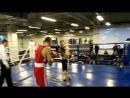 Бокс, открытый ринг - Азаров Артём 7й бой (фитнес центр KING)