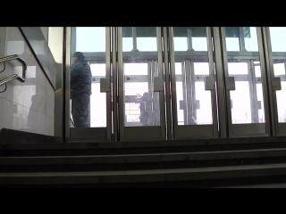 Станция метро Саларьево. Весенний день