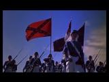 Кавалеристы (1959). Атака кадетов южан