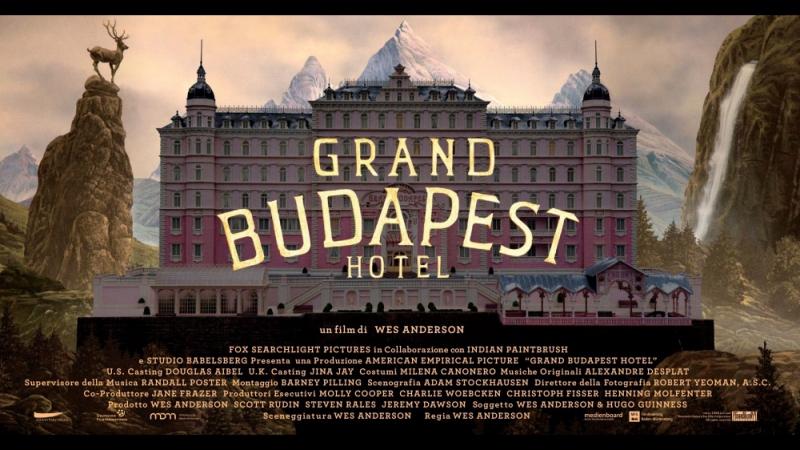 Отель «Гранд Будапешт» (2014) HD