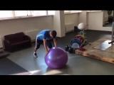 Роман Зобнин проводит восстановительные тренировки в расположении сборной России