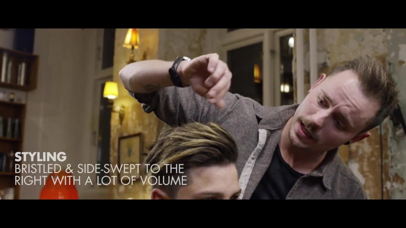 Hachim Mastour Hairstyle ★ Undercut with long top line-up ★ Mens hair