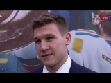 Александр Барабанов на чемпионском параде СКА