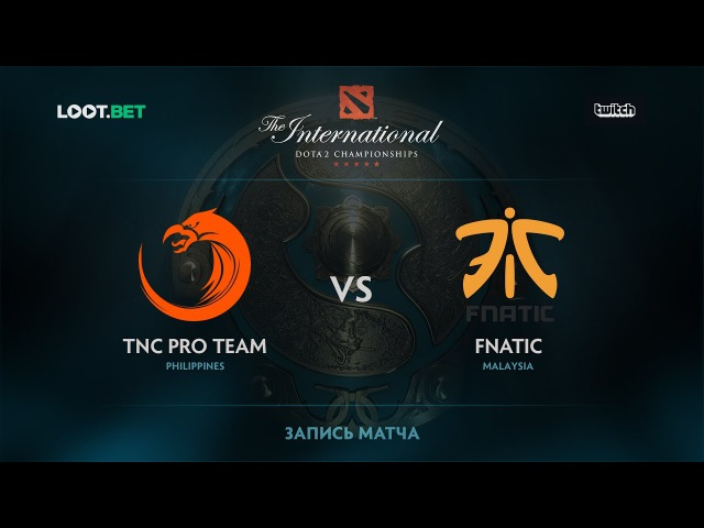 TNC Pro Team vs Fnatic, SEA Qualifications - The International 2017