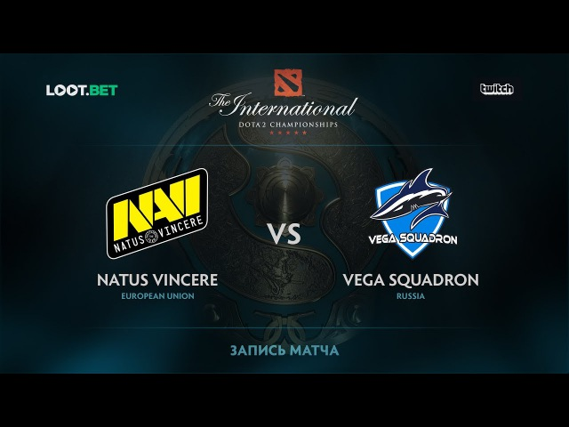 Natus Vincere vs Vega Squadron, The International 2017 CIS Qualifier