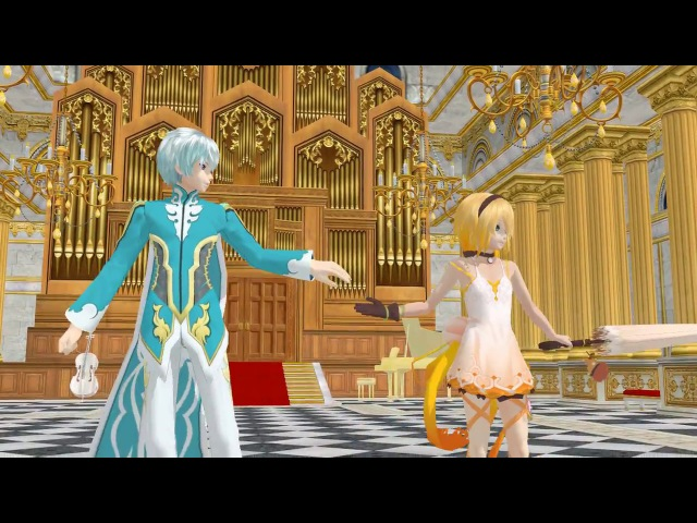 MMD Tales of Zestiria Mikleo and Edna Cantarella