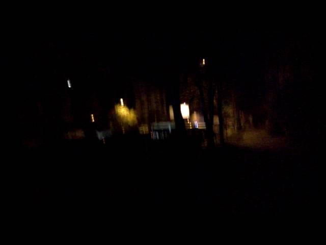 Ночной пожар 🚒 на Шоломке (ночь 🌃 на 14.10.2016