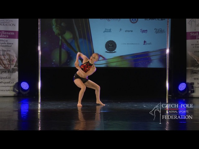 Elizaveta Shevtsova - Mistrovství ČR v pole sport 2017 - Junioři A - finále