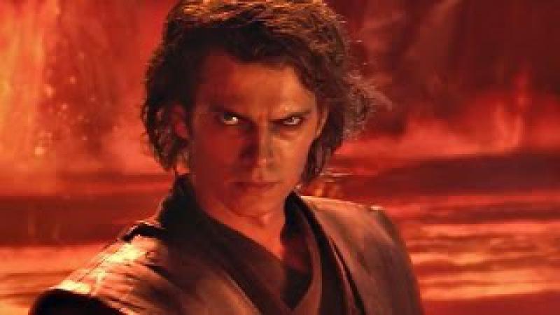 Энакин Скайуокер (Дарт Вейдер) против Оби-Вана Кеноби. ЧАСТЬ 3. Звёздные войны: Эпизод 3. 4K