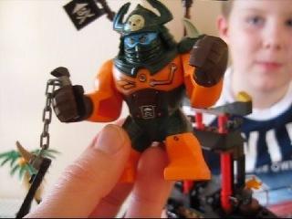 LEGO Ninjago 70604 Остров тигриных вдов/ 2 часть/ Обзор минифигур и отдельных деталей