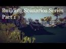 Building Scenarios in Besiege 1 Colored Floor