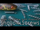 How to make shallow screws for Soft Plastic Lures in seconds.