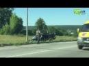 Разбитая вдребезги иномарка, погибший водитель ДТП на окружной