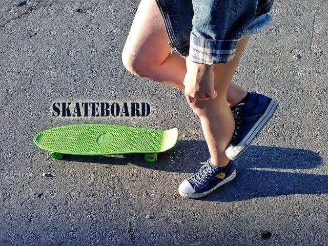 A little dream of skateboard | Маленькая мечта и большие надежды