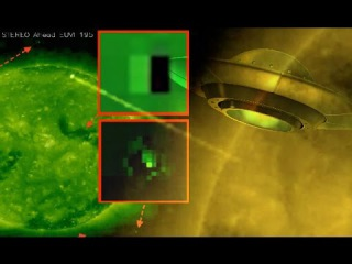 Are aliens draining our solar energy? Images of monster UFOs circling the Sun emerge!
