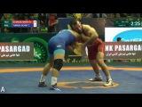 Джама́л Отарсулта́нов – HIGHLIGHTS WRESTLING – Freestyle World Cup 2017 (RUS) VS (MGL) – Final 5-6