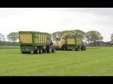Ploegmakers Rips gras hakselen met KRONE Swadro,BiGX en 2x TX Trekkerweb