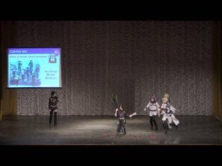 Косплей-сценка Атака вампиров по аниме Owari no Seraph (Последний Серафим)