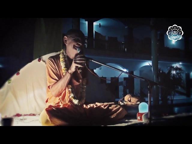 Источник слёз до конца жизни дорогого Бхакти Вигьяна Госвами Махараджа