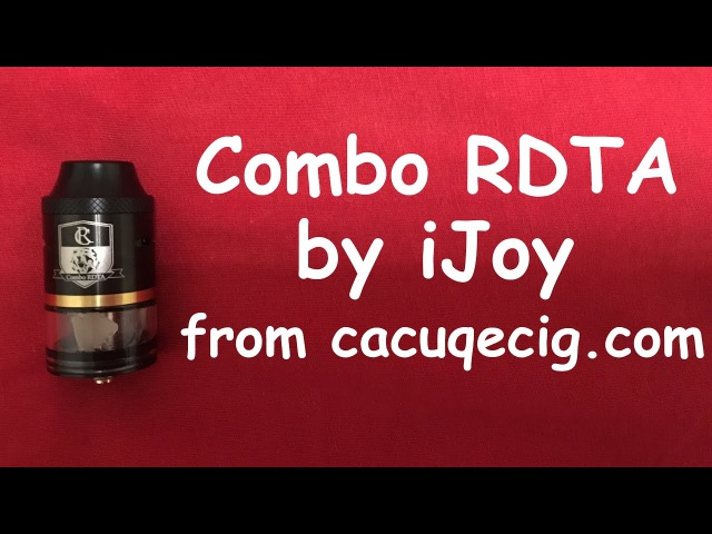 Combo RDTA by iJoy from Обзор Review Лучший в классе