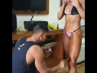 Tarci Moura - Video From Instagram Brazilian Fitness Bikini Model & Top 3 Arnold Classic