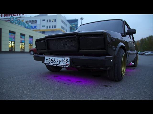 BLACK JACK 6. Hot Russian Tuning / Тюнинг ВАЗ 2107 на 200 000 рублей. Последние штрихи
