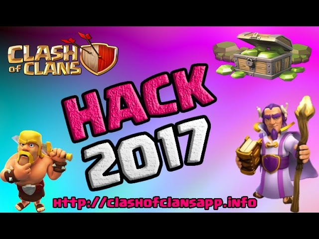 Clash of Clans Hack 2017 - Free Gems LIVE PROOF